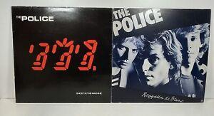 "The Police - Regatta de Blanc & Ghost In The Machine Vinyl LP Album 12"" 12 Inch"