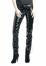 Goth Shiny Vinyl Pants Women Pants PVC Punk Rocker Emo Pant