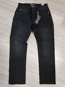 Hilfiger Jeans Ryan W34 L30 Schwarz Neu