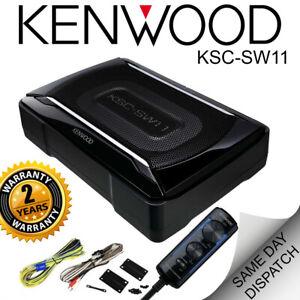 Kenwood KSC-SW11 kenwood underseat subwoofer underseat box