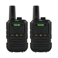 KD-C51 2x Mini Handheld Wireless FM Transceiver Two Way Radio Walkie Talkie KY
