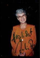 Julia axen foto original firmado # bc 44168