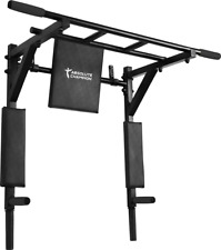 Multigriff Klimmzug Stangen Klimmzugstange Pull Up Bar Wandmontage 3 in 1 ATHLET