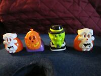 VINTAGE 1998 MCDONALD'S HAPPY MEAL TOYS HAUNTED HALLOWEEN Lot of (4)VERY CLEAN