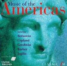 MUSIC OF THE AMERICAS - CLASSIC FM CD (1997) GERSHWIN COPLAND JOPLIN PISTON ETC