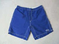 VINTAGE Ralph Lauren Polo Sport Swim Trunks Adult Extra Large Blue Spell Out A3
