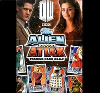Dr Who Alien Attax ccg/tcg Rainbow Foils 1 - 16 & Limited Edition Cards