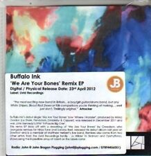 (DA907) Buffalo Ink, We Are Your Bones Remix EP - 2012 DJ CD