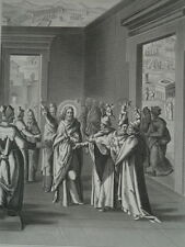 Jésus Christ déclare qu'elle est sa doctrine Héliogravure de 1863