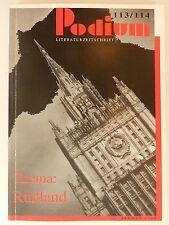 Podium Literaturzeitschift 113/114 Rußland