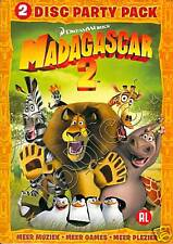 MADAGASCAR 2 - 2 DISC PARTY PACK - SEALED