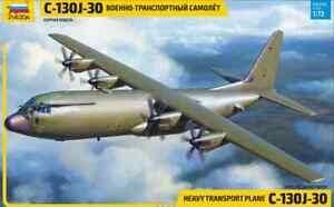 7324 American Military Transport Plane C-130J-30 Zvezda 1/72 🔥🔥🔥