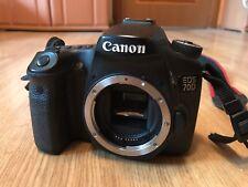 Canon EOS 70D 20.2MP Fotocamera Reflex Digitale-Nero DSLR (solo corpo) 7648 otturatore