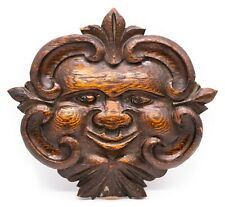 FRANCE LOUIS XIV 1700 PROVENCE CARVED OAK WITH SUN FACE AND FLEUR D'LYS