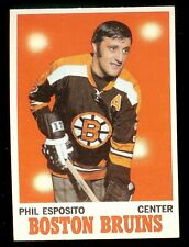 1970-71 Topps Hockey #11 Phil Esposito Boston Bruins