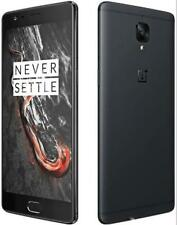 "OnePlus 3T Dual SIM 4G LTE Android 5.5"" 6GB RAM 64/128GB ROM Cell Phone"