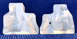 Vintage GARE Ceramic Mold Slip Casting Cast Rare 1997 Gare FAIRY 3219