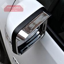 Chrome Door Mirror Rain Snow Guard Sun Visor For Jeep Renegade 2015 2016 2017