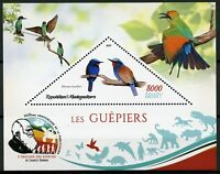 Madagascar 2019 MNH Bee-Eaters Blue-Headed Bee-Eater 1v S/S I Birds on Stamps