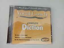 Vocal Coach: Complete Diction - Neutralize unwanted Accent - CD