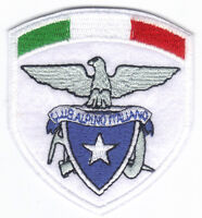 [Patch] CAI CLUB ALPINO ITALIANO TRICOLORE cm 6,5x7,5 toppa ricamo REPLICA -075t