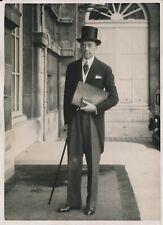 PARIS c.1930 - Léopold von Hoesch Diplomate Allemand Ambassadeur - PRM 265