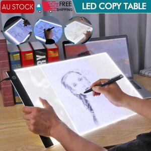 A3 LED Light Box Tracing Board Art Design Stencil Drawing Thin Pad Copy Led box