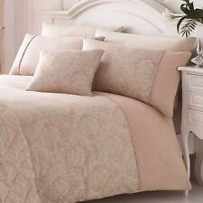 J Rosenthal Serene Collection Laurent Rose Pink King Size Quilt Cover Set