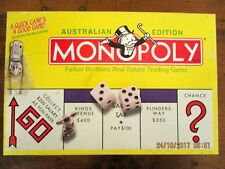 ~AUSTRALIAN EDITION MONOPOLY by PARKER BROTHERS - COMPLETE - VGC~