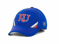 Kansas Jayhawks TOW Pace TC NCAA Team Logo Stretch Fit Cap Hat  OSFM