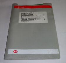 Manuale Officina Audi A4 B5 Motronic Sistema di Iniezione + Accensione Adp Adr