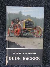 van Dishoeck Book Oude Racers Ebeling / van der Maaden (Nederlands) (JvH) ex-bib