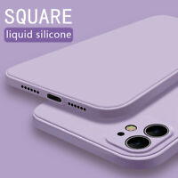 Luxury Square Silicone Soft Case Cover For iPhone 11 Pro Max XS XR X 8 7 6s Plus