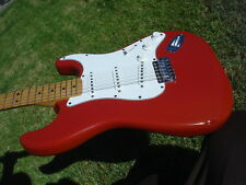 1980 Fender American Standard Stratocaster International Colors Morocco Red