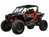 SuperATV Adjustable 3-5 Lift Kit for Polaris RZR XP 1000//4 1000 2014-2016 Black