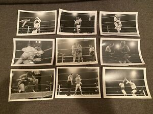 Vintage Portland Wrestling Photo Lot 1980s Bart Sawyer Rip Oliver Stan Stasiak