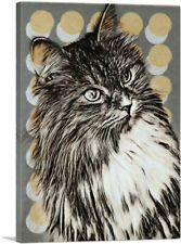 Artcanvas Maine Coon Cat Breed Canvas Art Print