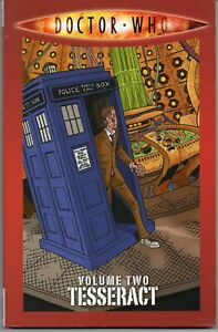 DOCTOR WHO Volume Two 2 TESSERACT SC GN 2010 IDW 10th Doctor NM