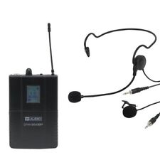 W Audio DTM 800BP Add On Wireless Beltpack Headset Lavalier Microphone Kit