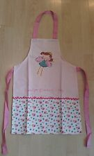 'When I grow up I want to be a fairy' Child's Cotton Apron