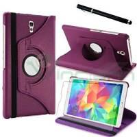 Custodia Rotante VIOLA per Samsung Galaxy Tab S 8.4 T700 T705