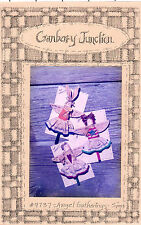 """Cranberry Junction Sewing Craft Doll Pattern # 9737 """"Angel Gathering"""" 5"""" Pins"""