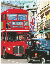 Double Decker Bus London Cab British UK 100 pc Bagged Boxless Jigsaw Puzzle