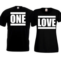 One Love T Shirts Funny Couples Tops His And Hers Valentines Day Christmas Gift