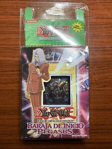 2002 Yu-Gi-Oh! Starter Deck Pegasus Relinquished SDP-001 1st Edition Spanish PSA