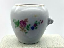 Vintage Ceramic Small Pot  Unknown Purpose Part Missing