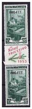 Trieste A 1953 AMG - Ftt Noël Trieste 10 Lire Paire