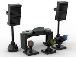 LEGO DJ Mixer Turntables Speakers & Stage Lights Music Club Party Dance EDM Rave