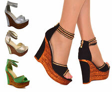 Unbranded Geometric Strappy, Ankle Straps Heels for Women