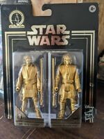 Star Wars Skywalker Saga Commemorative Edition Gold Obi-Wan & Anakin New